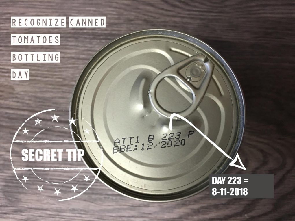 Canned Tomatoes Secret Tip