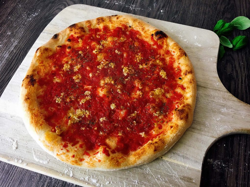Pizza with Marinara Sauce